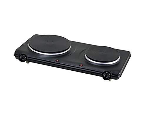 Best Bargain 1500W ELECTRIC DOUBLE HOT PLATE (black)