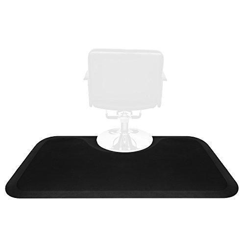 """Henf 3′ x 5′ Chair Anti Fatigue Hair Stylist Salon Mat, 1/2"""" Thick Beauty Salon Floor Mat Comfort Mat, Rectangle Standing Floor Mat Under Styling Chair"""