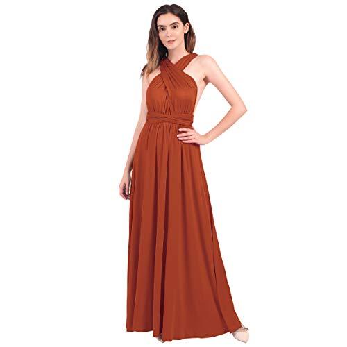 FYMNSI Vestido largo para mujer, para noche, boda, dama de honor, fiesta,...