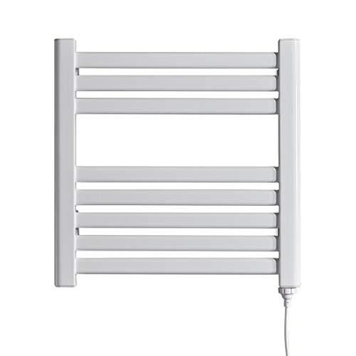 Elektrische handdoekhouder, eenvoudige installatie, intelligente temperatuurregeling, constante temperatuur van staal met laag koolstofgehalte, verwarmingsrek voor de badkamer.