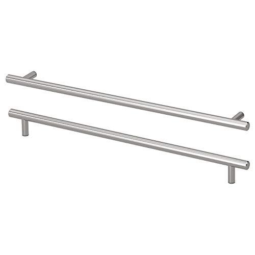 Ikea Kallror Schrankgriffe aus Edelstahl, 405 mm, 2 Stück