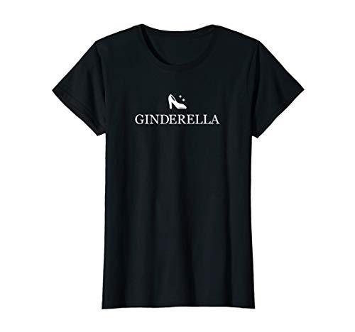 Damen Ginderella Braut Team Junggesellenabschied Gin Party JGA T-Shirt