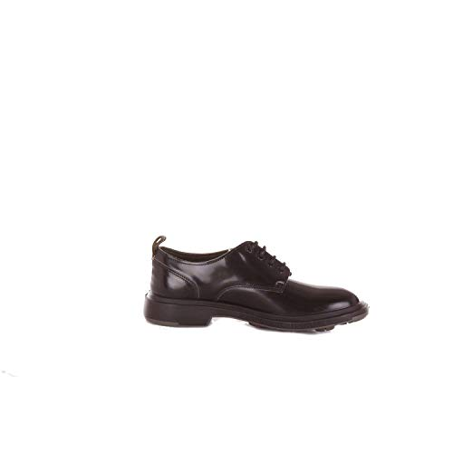 PEZZOL 1951 Luxury Fashion Mens LACE-UP Shoes Spring Black