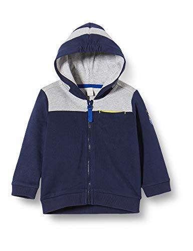 ESPRIT KIDS Baby-Jungen RQ1701212 Card Sweatshirt, Mehrfarbig (Midnight Blue 485), (Herstellergröße: 62)