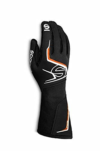 Sparco Tide Racing Gloves 001356 (Size: 10, Black/Orange)