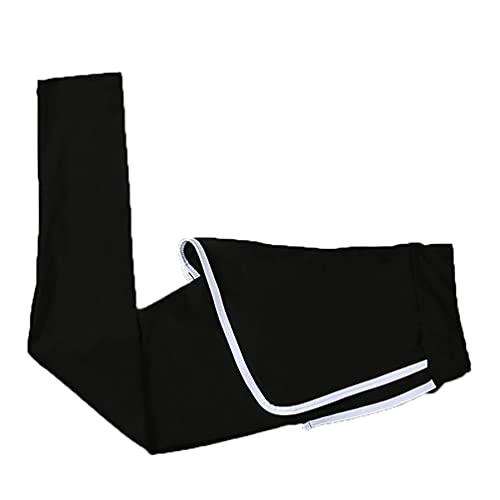 Xinwcang Mujer Pantalones de Deportivo Secado Rápido Cintura Elástica Respirable Pantalón de Yoga per Jogging, Fitness (Blanco | Estilo #3, S)