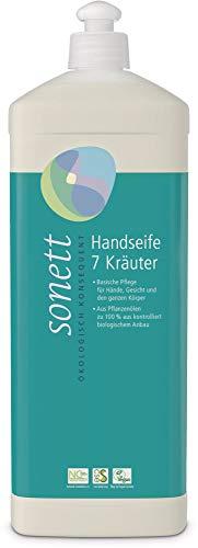 Sonett Bio Handseife 7 Kräuter (2 x 1000 ml)