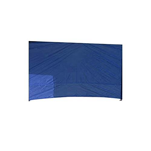 Gartenpavillon, Seitenteile, Outdoor, Hochzeit, Garten, Party, Camping, Zelt, wasserdicht, UV-Schutz, Seitenwand, Outdoor-Zelt-Zubehör (blau, 3 Meter) (ohne Fenster)
