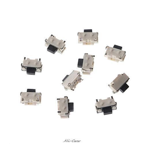 10 piezas / 1 juego de pulsador lateral táctil Micro SMD SMT Tact Switch 2x4x3.5mm