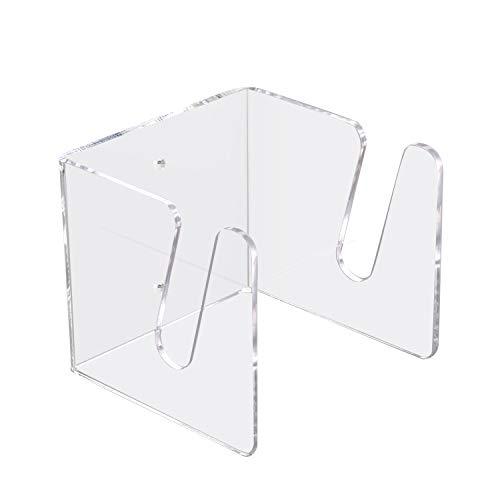 TOBWOLF Soporte de pared para monopatín, soporte de pared de acrílico transparente,...