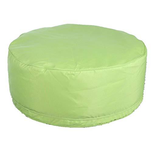 Keliour Sitzsackstuhl Große Bohnsack Stuhl Sofa Couch Füller Bohnenbeutel Erwachsene Liege Sack Home Wasserdicht Drinnen Draußen (Color : Green, Size : One Size)
