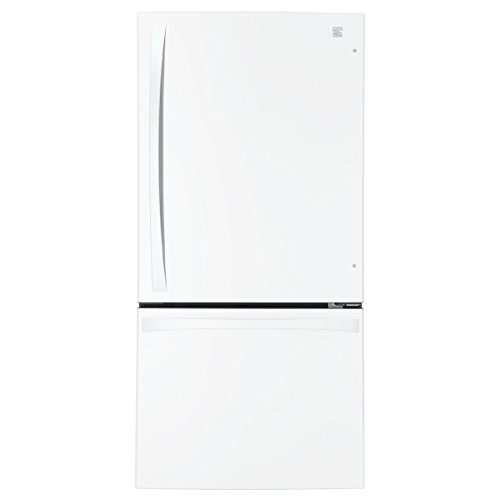 Kenmore Elite 79042 24.1 cu. ft. 2-Door Bottom-Freezer Refrigerator in White, includes delivery and hookup
