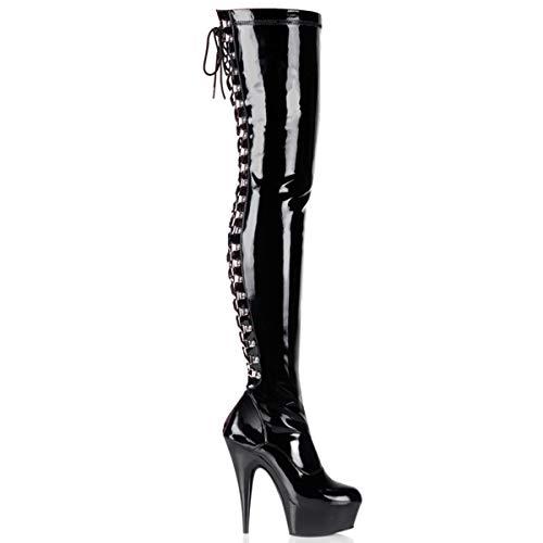 Pleaser Women DELIGHT-3063/B/M Boots