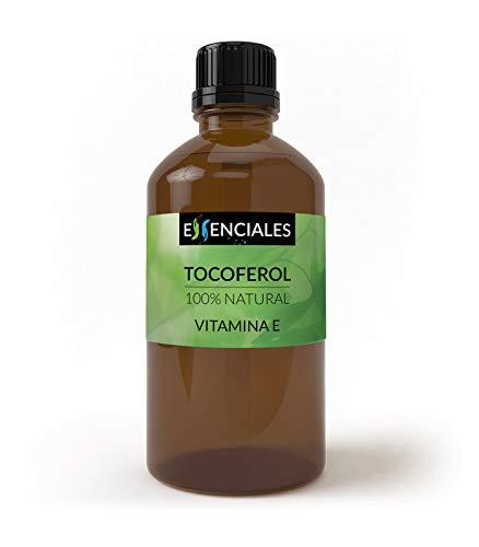 Essenciales - Vitamina E 100% naturale - Tocoferolo della massima qualità e purezza - 100 ml