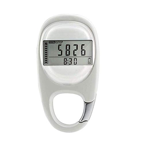 3D-Karabiner, Schrittzähler, Smart-Sensor, Kalorienzähler, Aktivitäts-Tracker, automatische Schlaffunktion, 7 Tage Datenspeicher, Reset-Funktion, Monitor Pedometer,einfache Bedienung