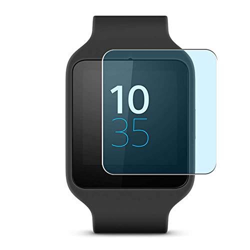 Vaxson 3 Stück Anti Blaulicht Schutzfolie, kompatibel mit Sony Smartwatch 3 Smartwatch Hybrid Watch, Bildschirmschutzfolie TPU Folie Displayschutz [nicht Panzerglas Hülle Hülle ]