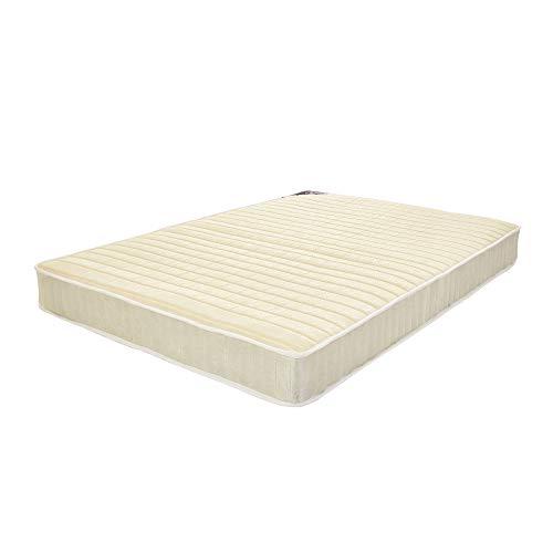 18-20mm Thickness Sprung Mattress Budget High Density Foam Comfort Mattress with Stripe Linesor for Kids Adults (4FT6 Mattress)