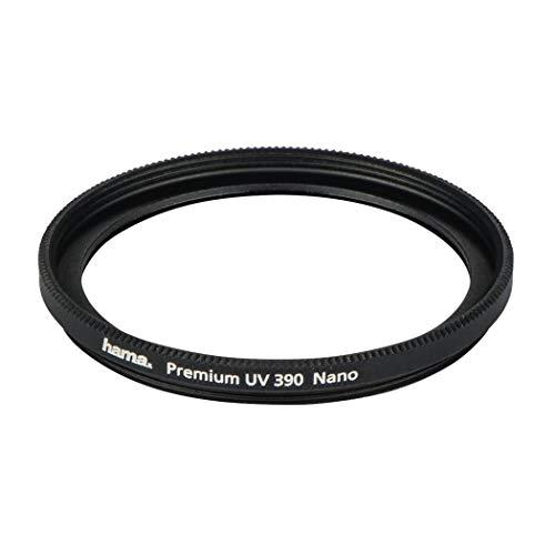 Hama Premium UV 390 Nano Ultraviolettfilter (UV) 62 mm – Filter für Kameras (6,2 cm, Ultraviolett)