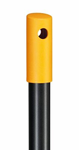 Fiskars Solid Allzweckbesen mit PowerClean-Borsten, Länge: 1,7 m, L, Schwarz/Orange, 1025926 - 3