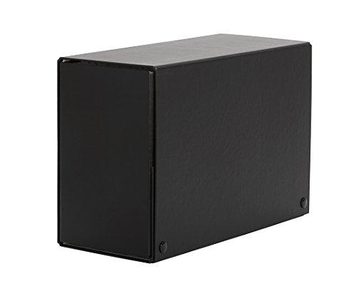 PARDO 879167 - Carpeta de proyectos con broche, 120 mm, color negro ⭐