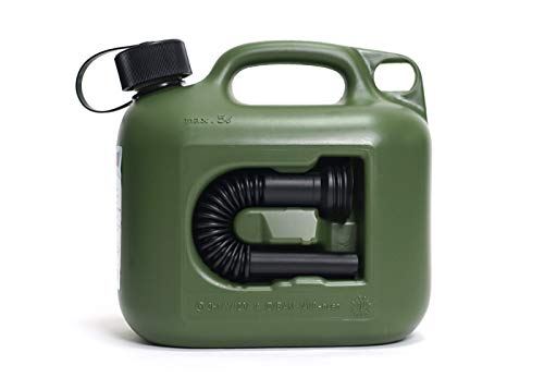 ヒューナースドルフ Hunersdorff 燃料タンク [ 安心の正規品 保証付 ]ポリタンク フューエルカンプロ 5L ウォータータンク 燃料 ホワイトガソリン 灯油 タンク キャニスター キャンプ (olive)
