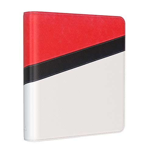 Rayvol 9-Pocket 720 Card Binder Compatible with Pokemon Cards, Holder Fits 720 Cards with 40 Sleeves Included, Cards Collector Album for Trading Cards