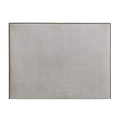 Diseño con encanto: cabecero tapizado con un diseño sencillo de líneas rectas con tachuelas, detalle que lo hace único Gran calidad: tapizado nido de alta calidad. Producto fabricado en españa Uso/ tamaño: para cama de 160: 170x120x6 cm(anchoxaltoxfo...