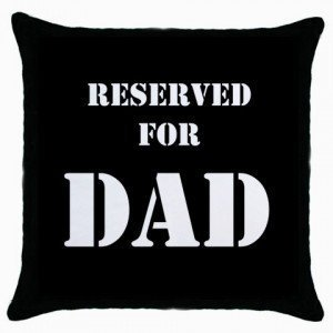 tyutrir Jtartstore Reserved For Dad Cushion d5 Home 18x 18-inch sofa cotton linen decorative pillow