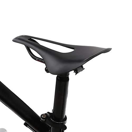 FECAMOS Asiento de Bicicleta de Fibra de Carbono Anti-deformación, para Bicicleta de montaña, etc.