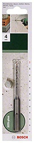 Bosch 2609255500 110mm SDS-Plus Hammer Drill Bit with Diameter 4mm