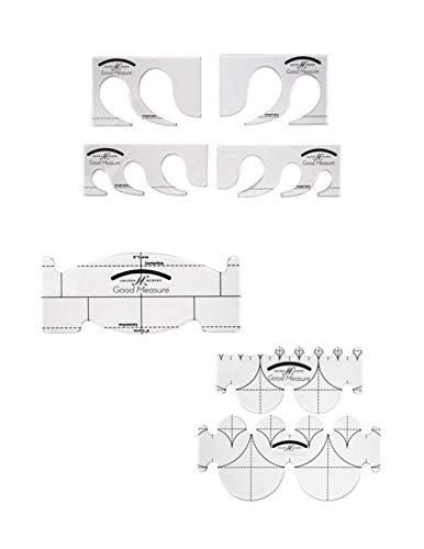 Great Features Of Every Feather Longarm Every Feather Spine Clamshell Quiting Template Rulers Set