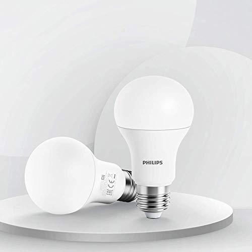 Philips MUE4088RT Bombilla Wi-Fi E27, Led, Controlada de forma inalámbrica, Regulación continua por APP, Blanco, 6.5 W, Única