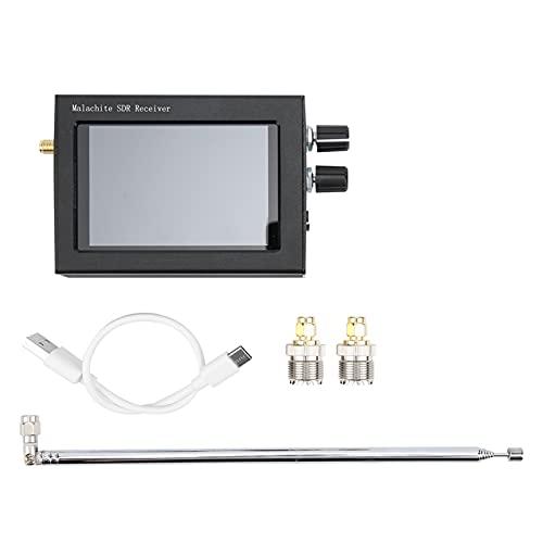 Receptor SDR, Graves Pesados con Pantalla táctil de 3,5 Pulgadas Receptor SDR con adaptación de impedancia para decodificar transmisiones de Voz Digital sin cifrar