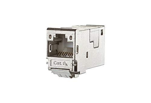Metz Connect E-DATmodul RJ45 8(8) 130910-I-B1 Cat.6A, TIA-B, gesch E-DATmodul Modularer Steckverbinder 4250184118305