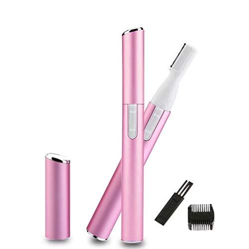 XiZiMi tondeuse à sourcils rasoir dames tondeuse à sourcils électrique Tondeuse à sourcils électrique tondeuse à sourcils 1pc rose pink