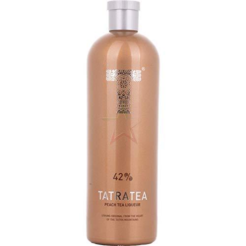 TATRATEA Peach & White Tea Liqueur 42,00% 0,70 Liter