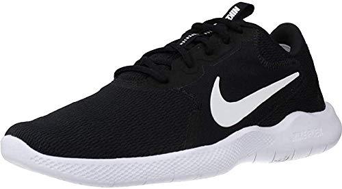 Nike Flex Experience Run 9 - Zapatillas para Hombre, Negro/Blanco-Gris Oscuro, 10.5 US