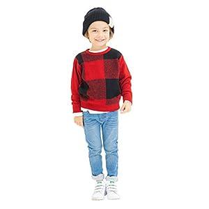 [ブランシェス] プレミアムストレッチデニム 裏起毛 パンツ 男の子 女の子 キッズ 男女兼用 子供 男児 女児 ロングパンツ 110cm ブルー