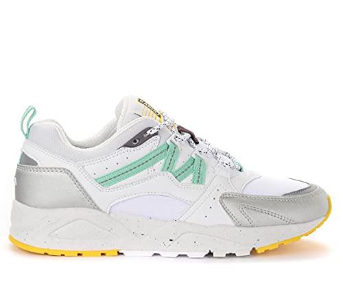 Karhu Fusion 2.0 F804101 - Zapatillas deportivas para hombre, color plateado y blanco Plateado Size: 42.5 EU