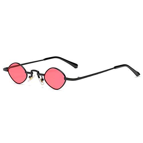 ZLC Gafas de moda de moda de hip-hop retro de la moda de las gafas de sol Decorativas de la moda UV400 Gafas de sol resistentes a los UV