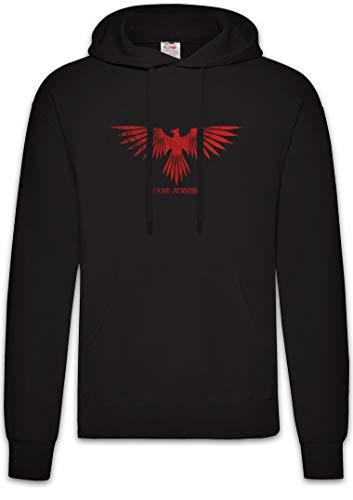 Urban Backwoods House Atreides Hoodie Kapuzenpullover Sweatshirt Schwarz Größe L