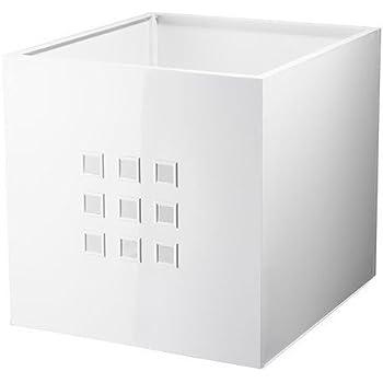 IKEA LEKMAN - Box, blanco - 33x37x33 cm: Amazon.es: Hogar