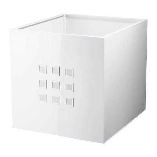 Ikea Caja lekman, Color Blanco (para estanterías de Expedit)