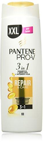 Pantene Pro-V Repair&Care 3in1 Shampoo, Spülung Und Intensiv-Kur, 6er Pack (6 x 400 ml)