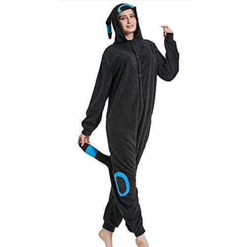 SXSHYUCO Jumpsuit Onesie Pyjama Cosplay Kostüme Schlafanzug Erwachsene Unisex Animal Tieroutfit tierkostüme Jumpsuit Bekleidung, M