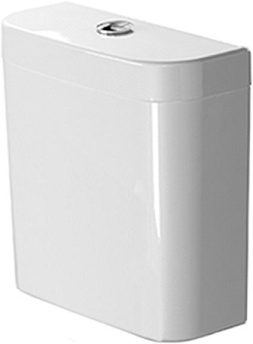 Duravit 931200005 0931200005 Cistern with Single Flush, Darling New Toilet Tank, Large, White