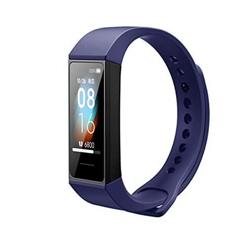 Para Xiaomi Mi Band 4C Correa de reloj de silicona para Xiaomi Mi Smart Band 4C Correa de pulsera inteligente Reemplazo de correa de reloj de silicona