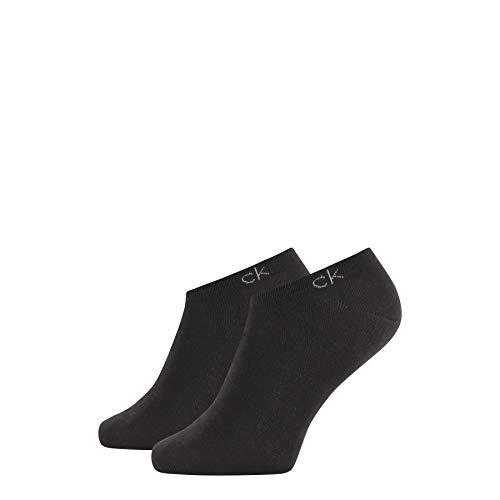 Calvin Klein Socks Mens Herren Sneakersocken ECP250G, Schwarz, 43/46 Socks, Black