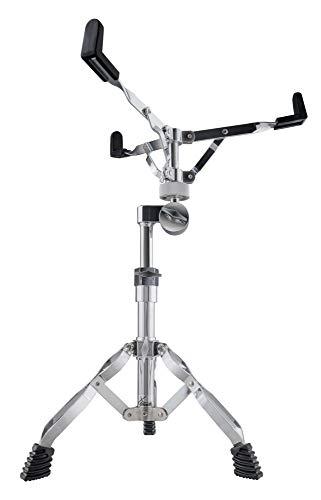 XDrum Snare-Ständer Stage (doppelstrebig, Höhenverstellbar 48-63cm, Gummifüße, Rastergelenk für Neigung, stabil)