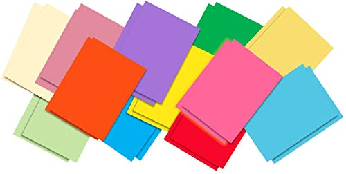 100 Fogli Carta Colorata A4 Stampante 210x297mm, 70g Carta Origami A4 Artigianale in 10 Colori, Fogli Origami Per Fare Origami Stampante DIY carta colorata a4